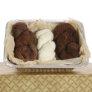 Sweet Potato Cowl - Brown/Natural