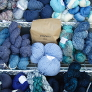 Sport, DK, & Worsted Mystery Yarn Grab Bags - Blues