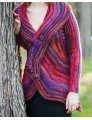 Knitswirl Designs Knit, Swirl! - PDF DOWNLOAD - Coat of Many Colors - Single Pattern