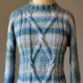 Blue Heartstrings Sweater photo