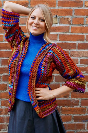 Squared Up Jacket Free Pattern