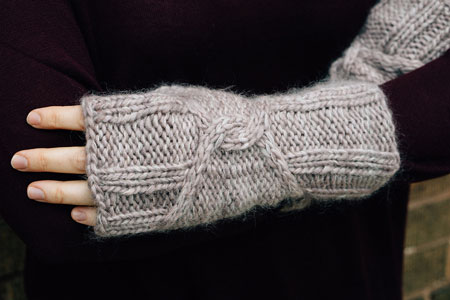 Steeplejack Mitts Free Pattern