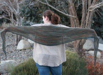 Truckee Shawlette Free Knitting Pattern At Jimmy Beans Wool