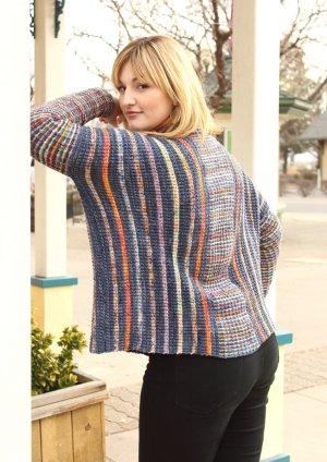 Merino Cape Knitting Pattern : Koigu American Merino Poncho Free Knitting Pattern at Jimmy Beans Wool