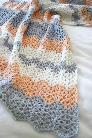 Baby Eden Blanket Free Pattern