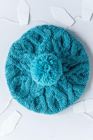 Year of Hats December Hat Free Pattern