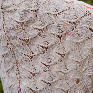 Fortune Cookie Shawl Free Pattern