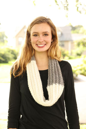 2 Color Cowl Free Pattern