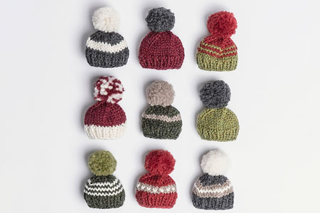 Holiday Cheer Mini Hat Free Pattern
