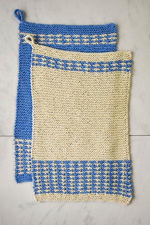 Mosaic Dish Towels Free Pattern