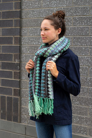 Succulent Scarf Free Pattern