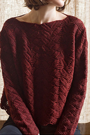 Sunset Pullover Free Pattern