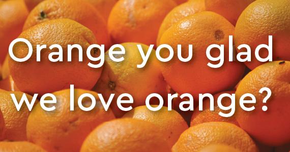 GG Loves Orange