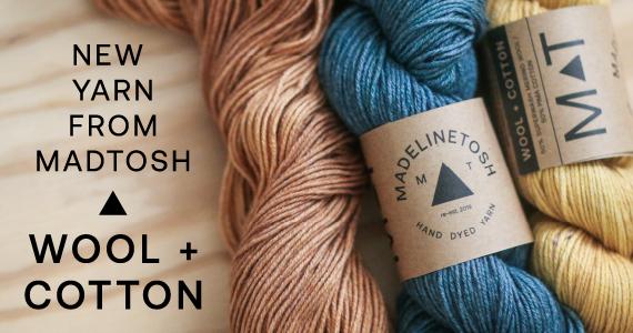 Wool + Cotton Header