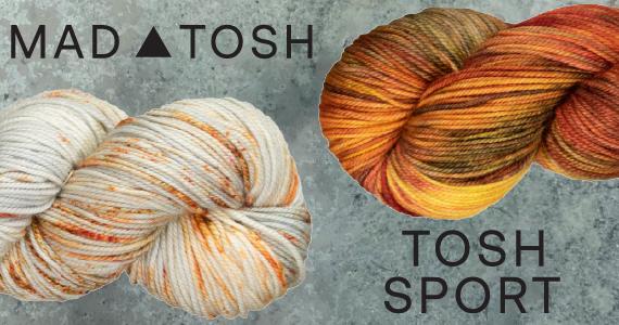 Madelinetosh Tosh Sport Restock