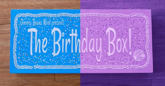 Purple BDay Box Header