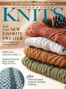 Interweave Press Interweave Knits Magazine '20 Fall