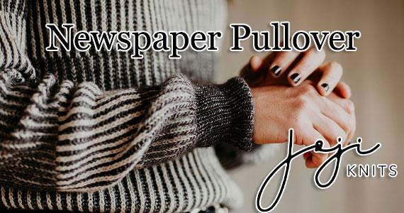 Newspaper Pullover Header