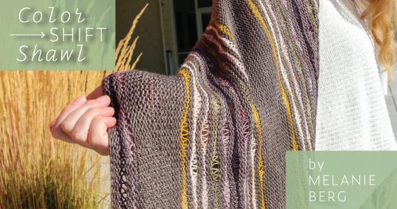 Melanie Berg Colorshift Shawl Kit