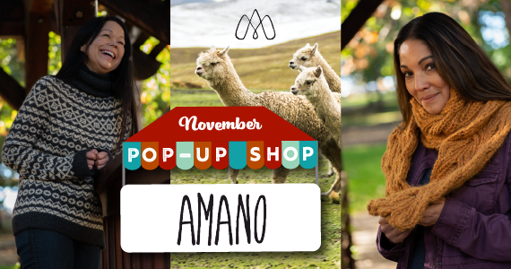 Amano Pop Up Shop November