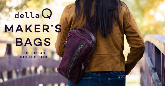 della Q Canvas Bags