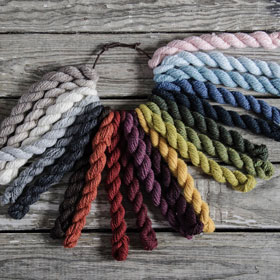 Blue Skys Fibers 21 Color Kits