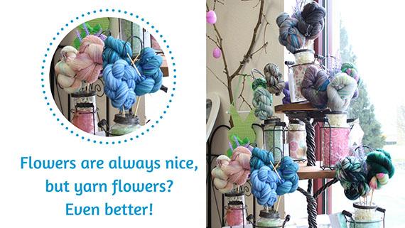 Yarn Bouquets