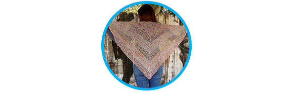 Show and Tell Ailene's Ziggy Shawl