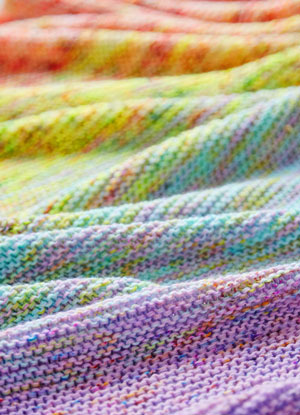 All My Stitches Shawl Free Pattern