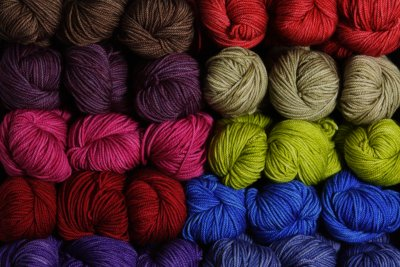 Lots of pretty new yarn from Anzula!