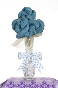 March Birthstone Bouquet - Aquamarine