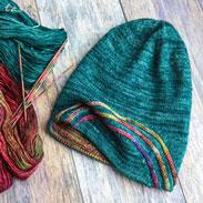 Malabrigo Mechita Aurora Borealis Hat Kit