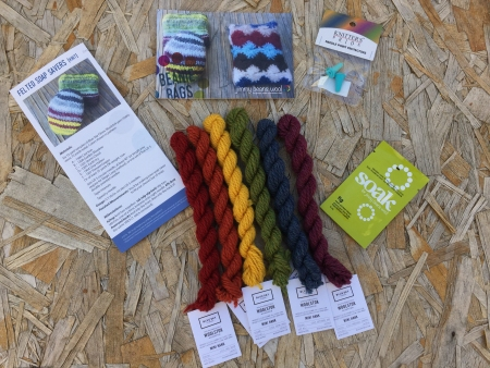 July 2016 Beanie Bag contents