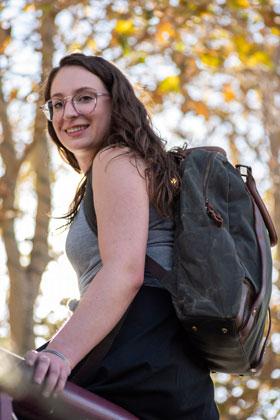 Maker's Canvas Backpacks - One bag