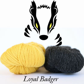 Loyal Badger Wizard Scarf