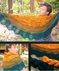 Baja Sunrise Shawl Pattern