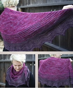 Baja Sunset Shawl Pattern
