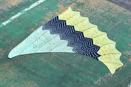 Baseline Shawl Free Pattern