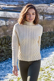 Rowan Valley Tweed Beautham Pullover Kit