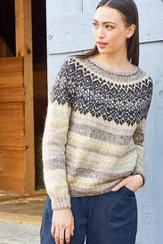 Berroco Purga Pullover Kit - Women's Pullovers