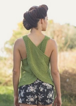 Berroco Folio - Green Apple Tank