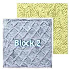 Block 2 Knitterati Gradient Lapghan