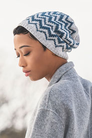 Blue Sky Fibers Springfield Chevron Hat Kit