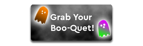 Halloween Boo-quets