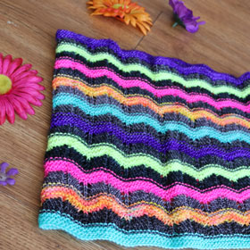 Growth Rings Cowl - Brights