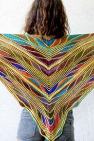 Urth Yarns/Malabrigo Butterfly/Papillon Shawl Kit