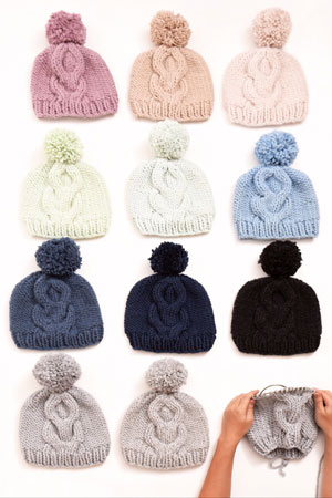 Cabled Hat Free Pattern