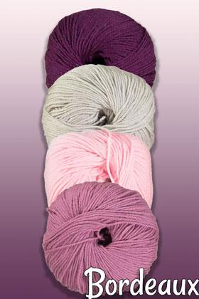 Cascade Blanket of Many Stitches Knit-Along Kit