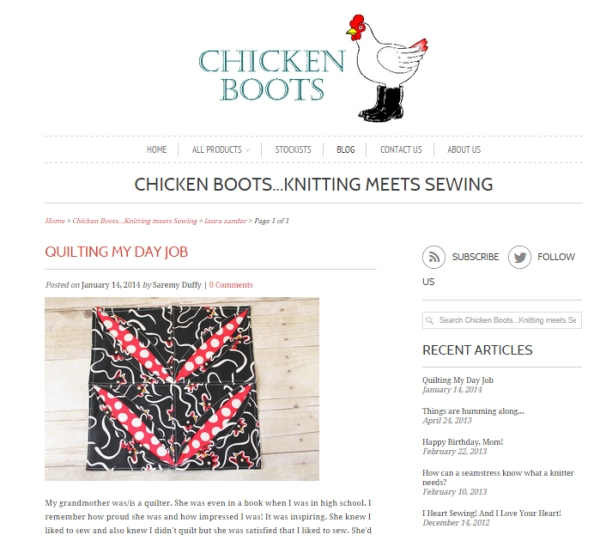 ChickenBootsQuilting