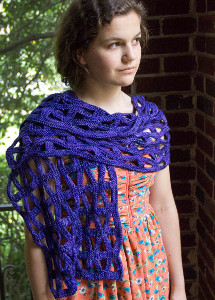 Chutes and Ladders Shawl pattern